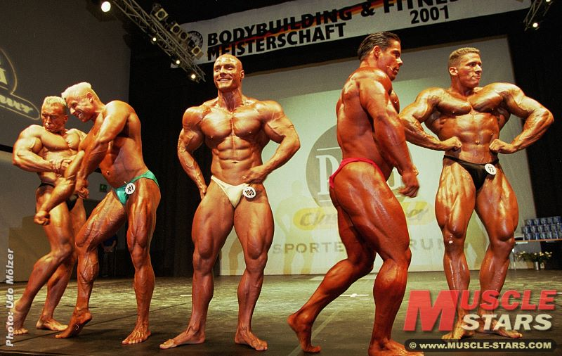Bodybuilding DBFV Deutsche 2001