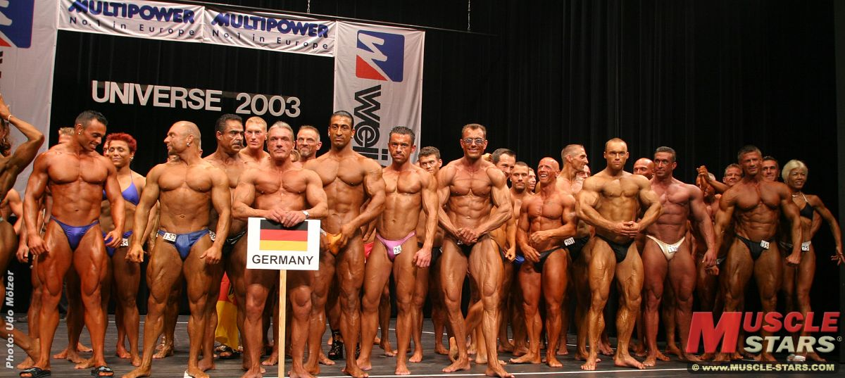 NAC NABBA Universe 2003 in Cuxhaven, Germany