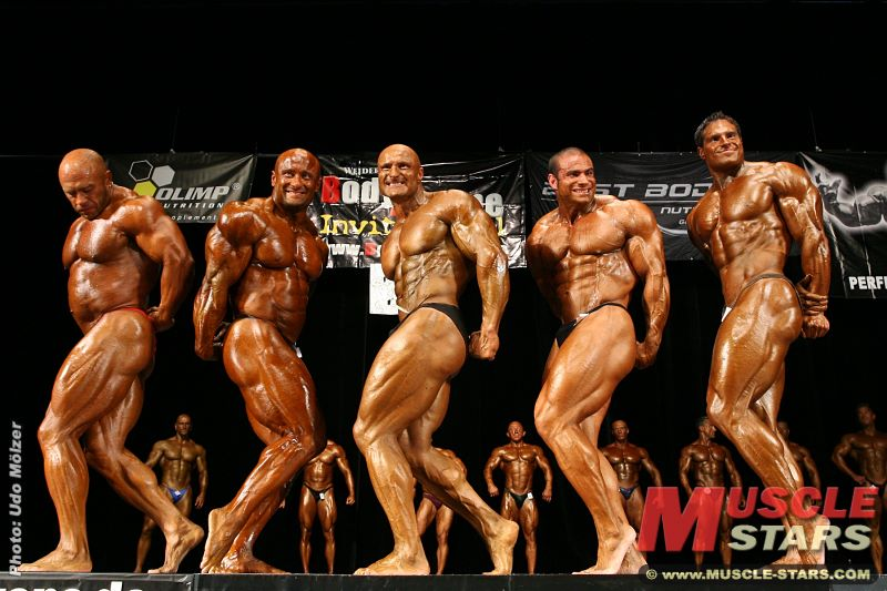 IFBB WEIDER Body-Xtreme Invitational 2008 in Frankfurt