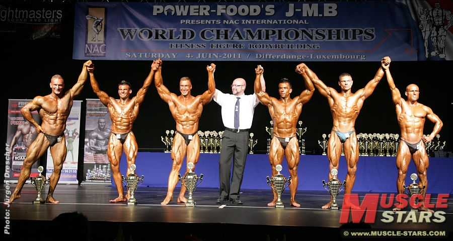 NAC World Championships 2011, Fitness & Bodybuilding