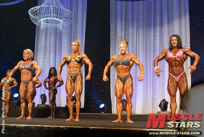 Ms. International 2012, Bodybuilding