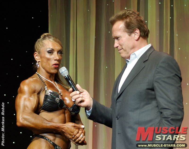 Ms. International 2012 & Arnold Schwarzenegger