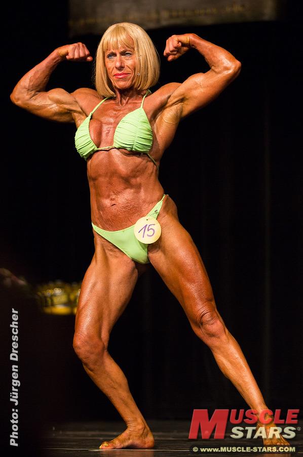 bodybuilding pussy Muskel Frauen Sex