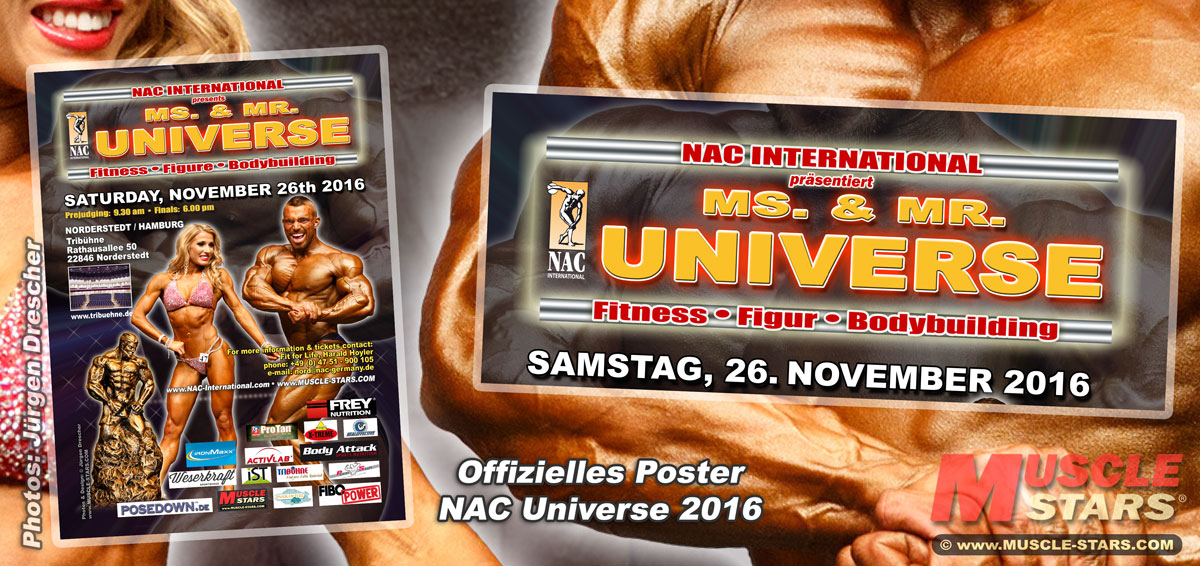 Poster NAC Ms. & Mr. UNIVERSE 2016