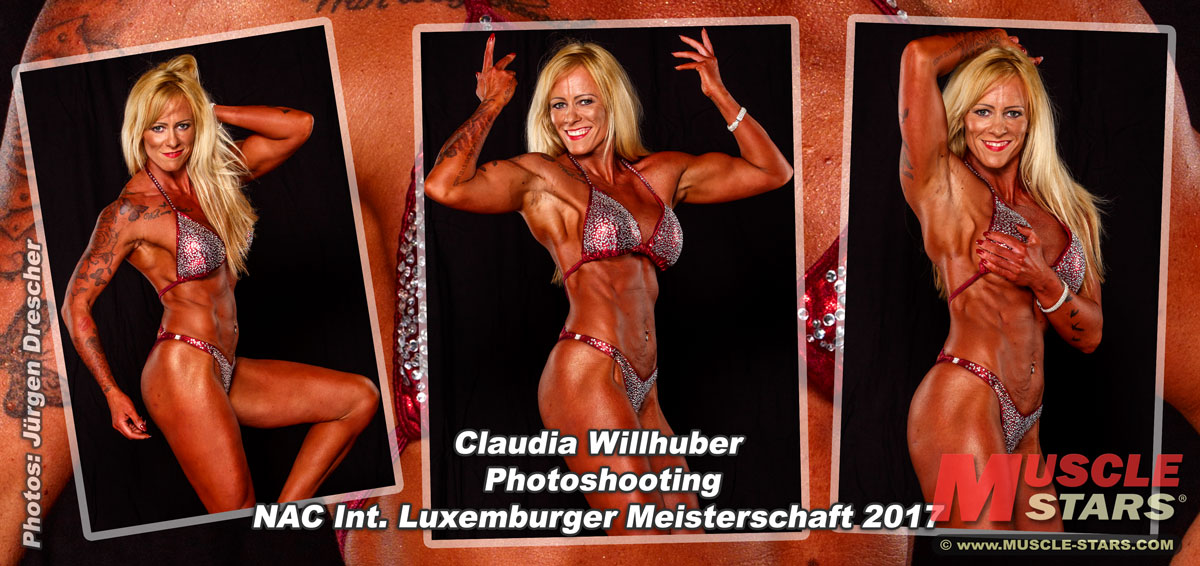 Claudia Willhuber, Foto Shooting